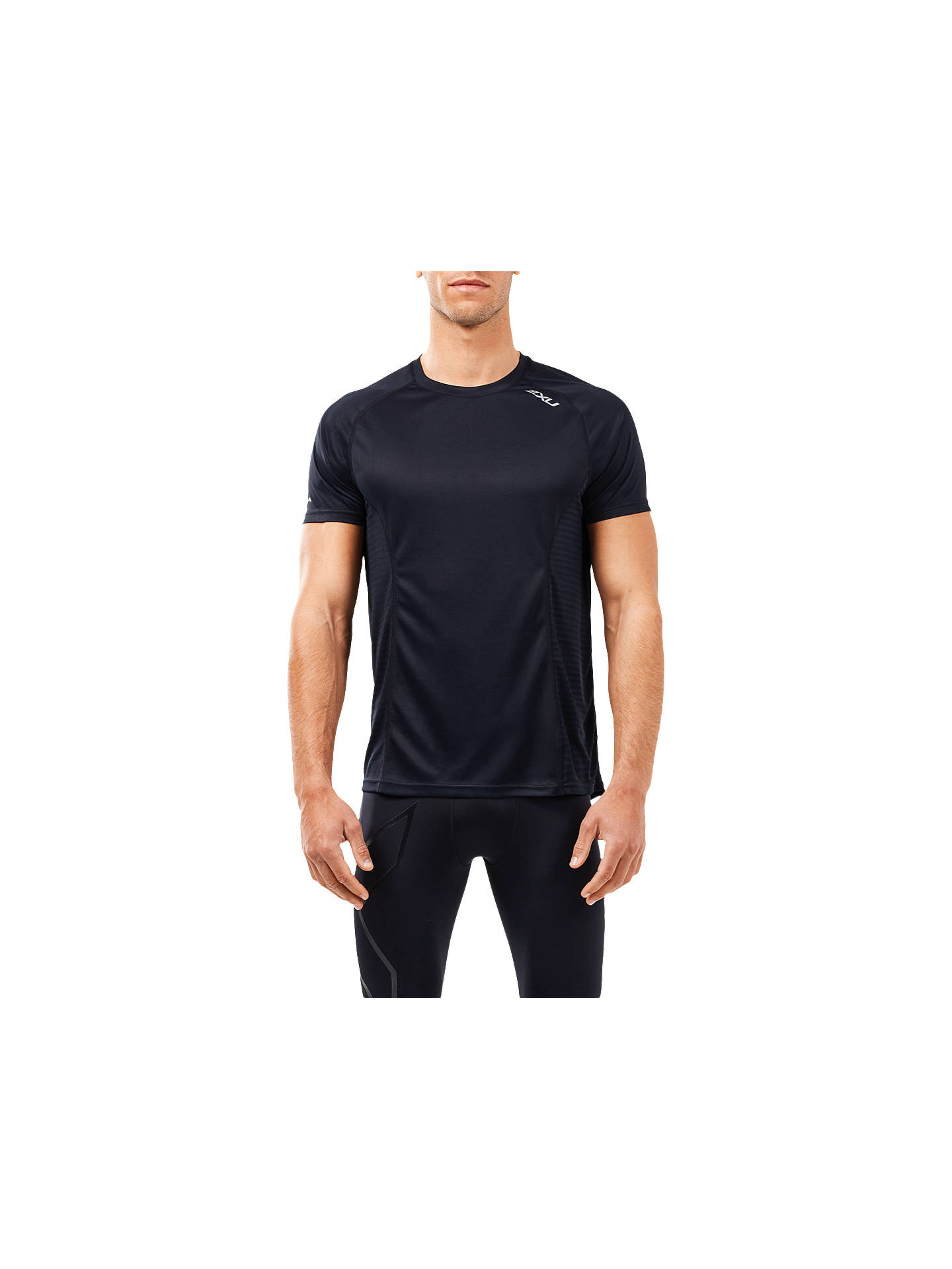Buy2XU XVent Training T-Shirt, Black, S Online at johnlewis.com