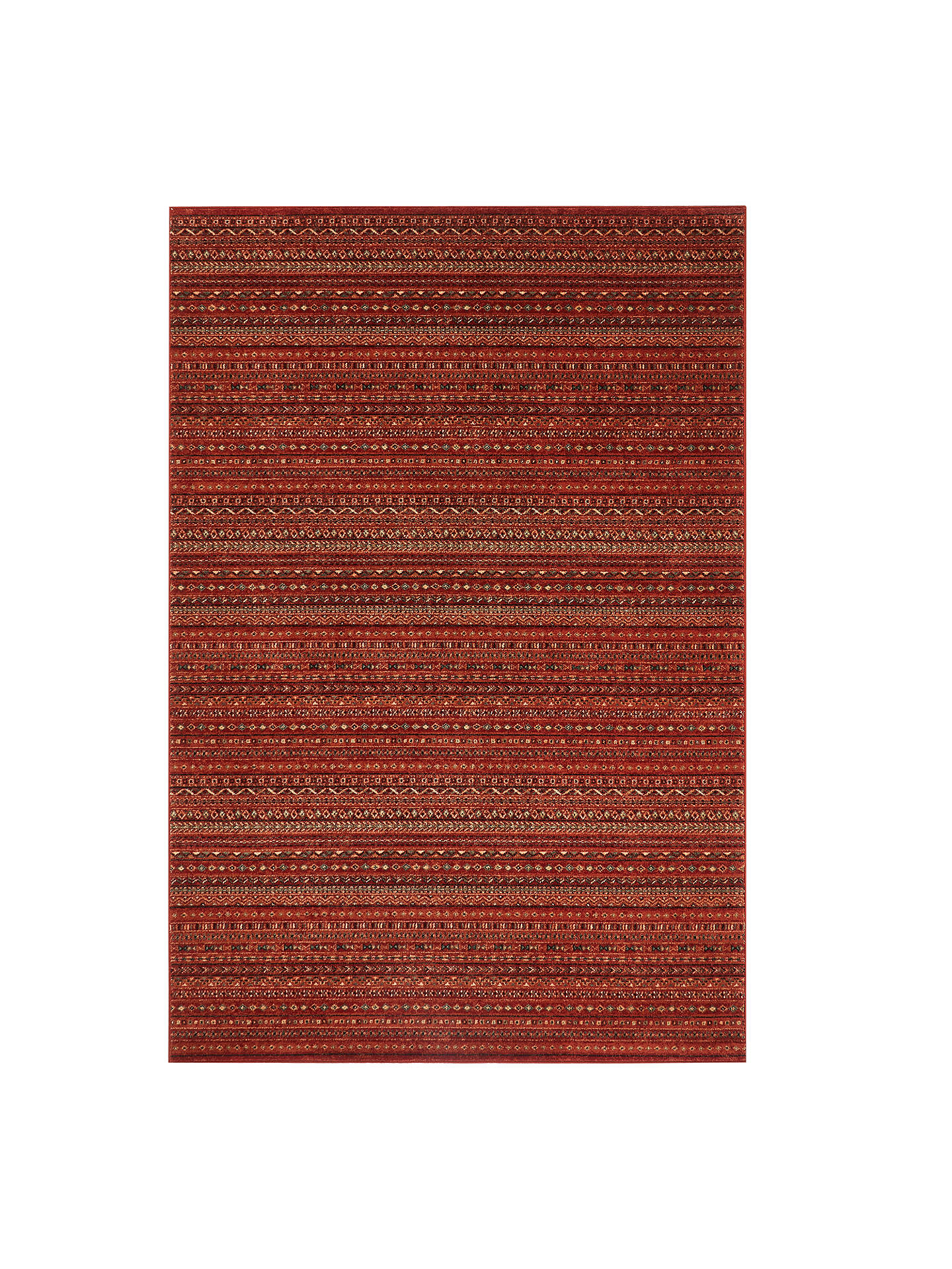 John Lewis Partners Aztec Stripe Rug At