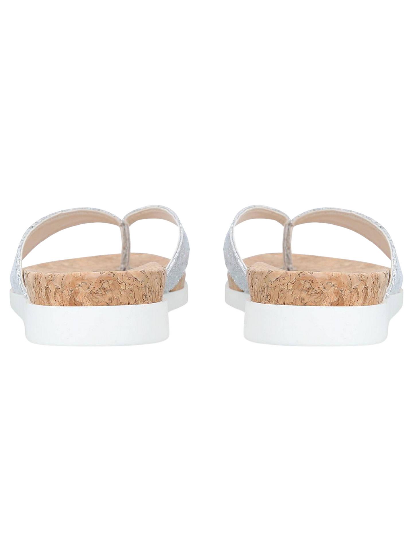 e199f7c22 Carvela Barb Glitter Slip On Sandals at John Lewis   Partners