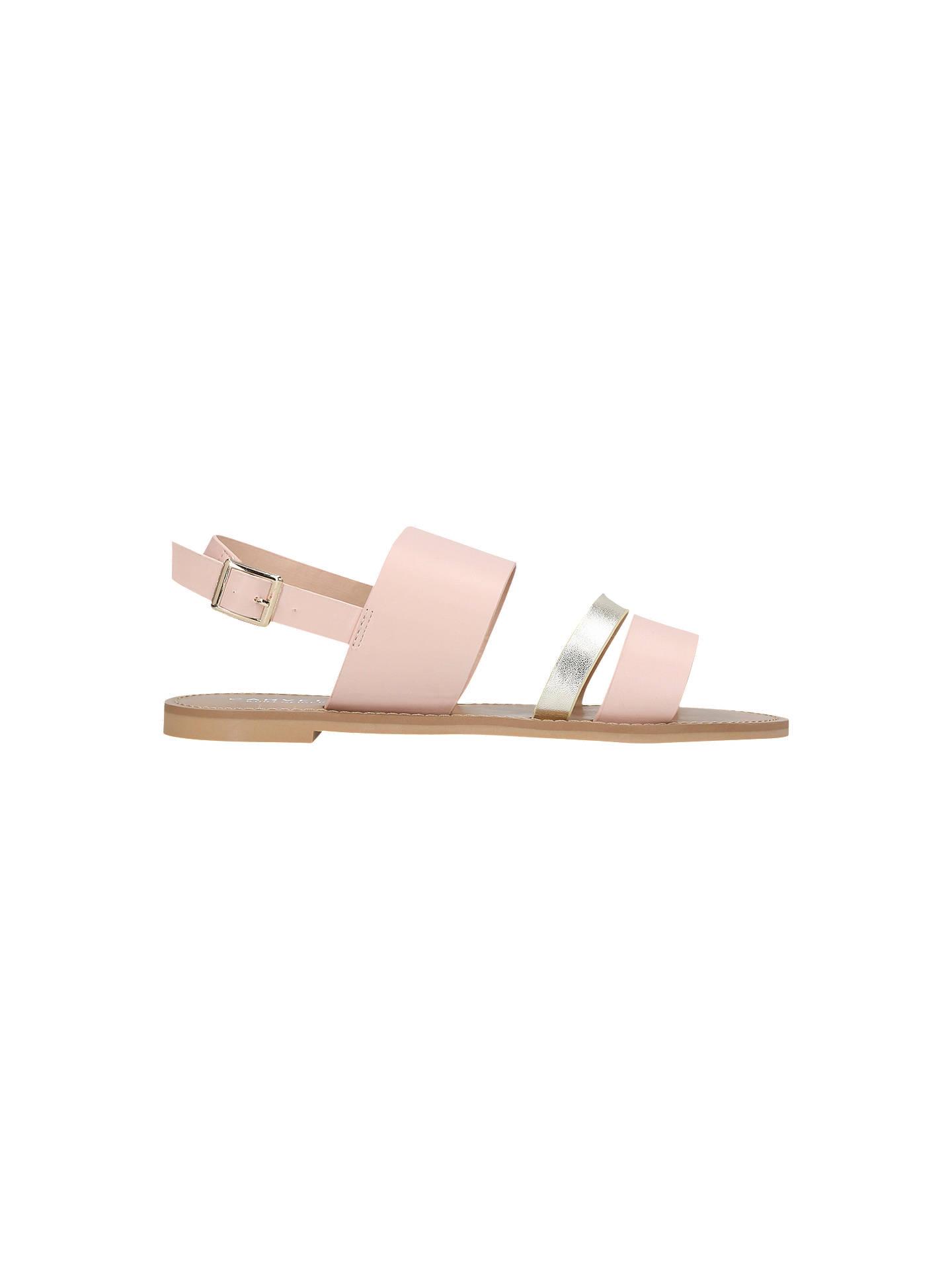 fd6dfb738 Buy Carvela Blink Flat Sandals, Nude, 3 Online at johnlewis.com ...