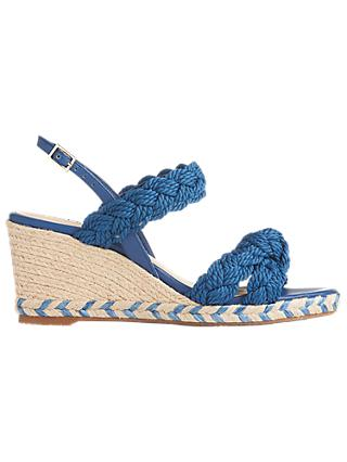 L.K.Bennett Roxie Wedge Heel Espadrille Sandals
