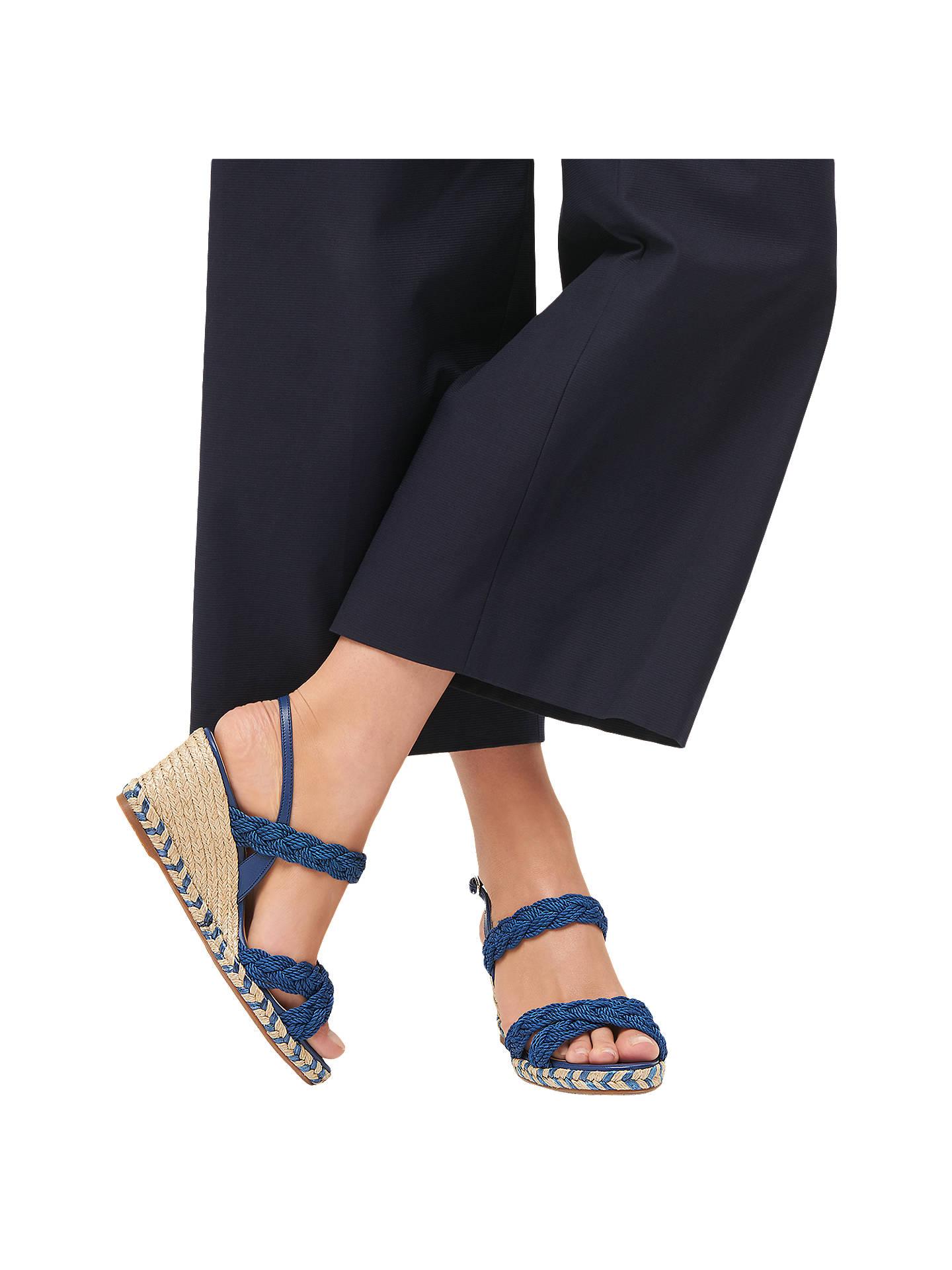 af6856fe8b32 L.K.Bennett Roxie Wedge Heel Espadrille Sandals at John Lewis   Partners