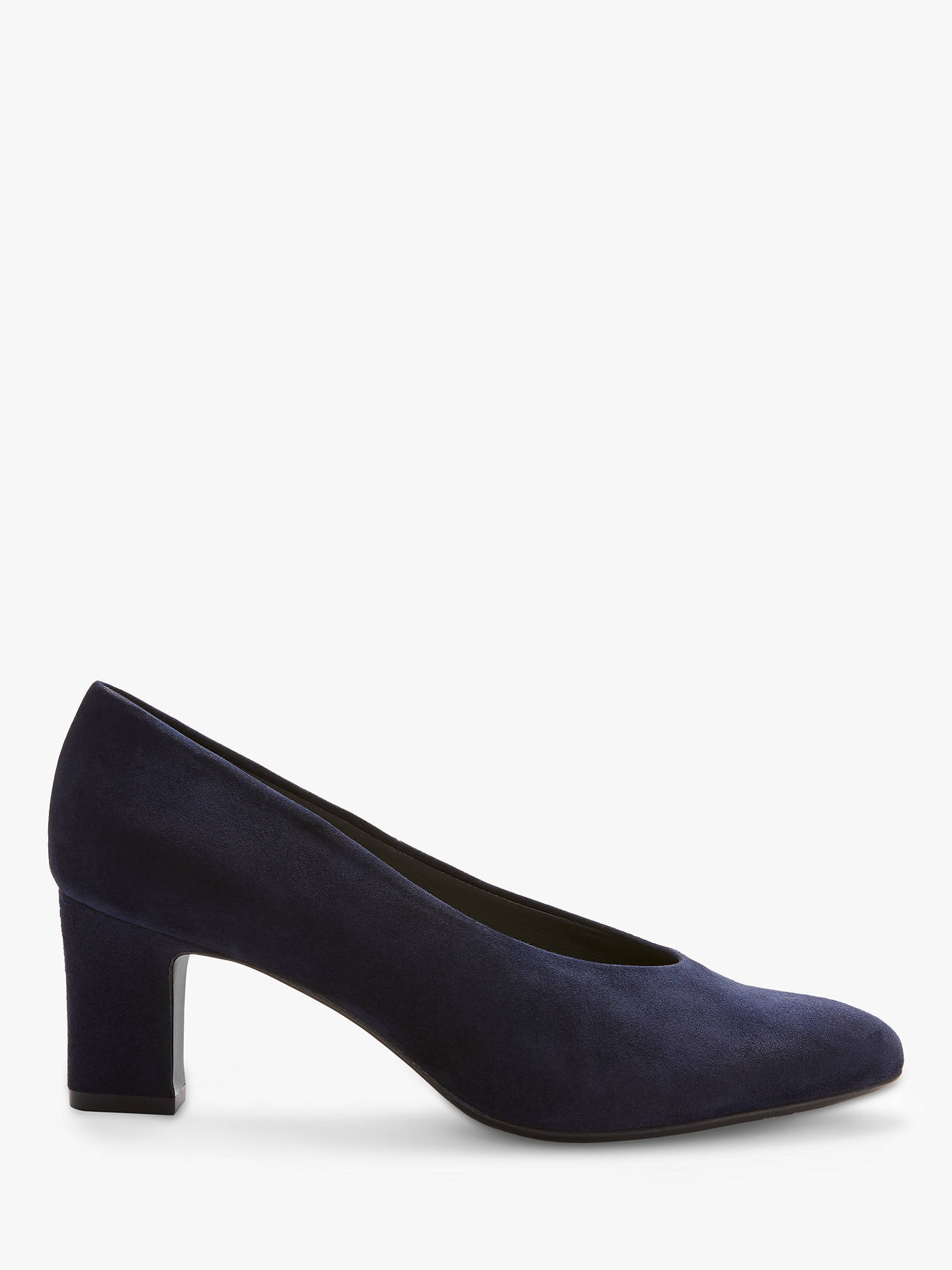 ShoesNavy Suede At Court Mahirella Block Heel Kaiser Peter John PTwOZulXik