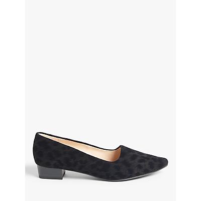 Image of Peter Kaiser Lisana Closed Block Heeled Court Shoes, Black