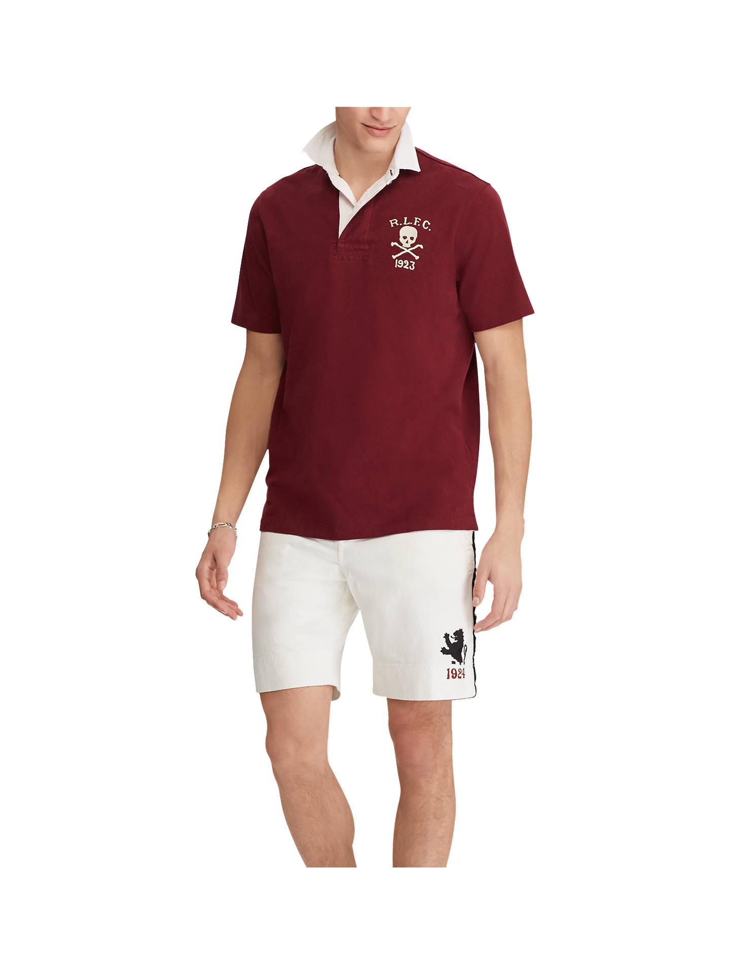 5beb28cf35d1 ... shopping buypolo ralph lauren short sleeve skull polo shirt classic  wine l online at johnlewis ba676