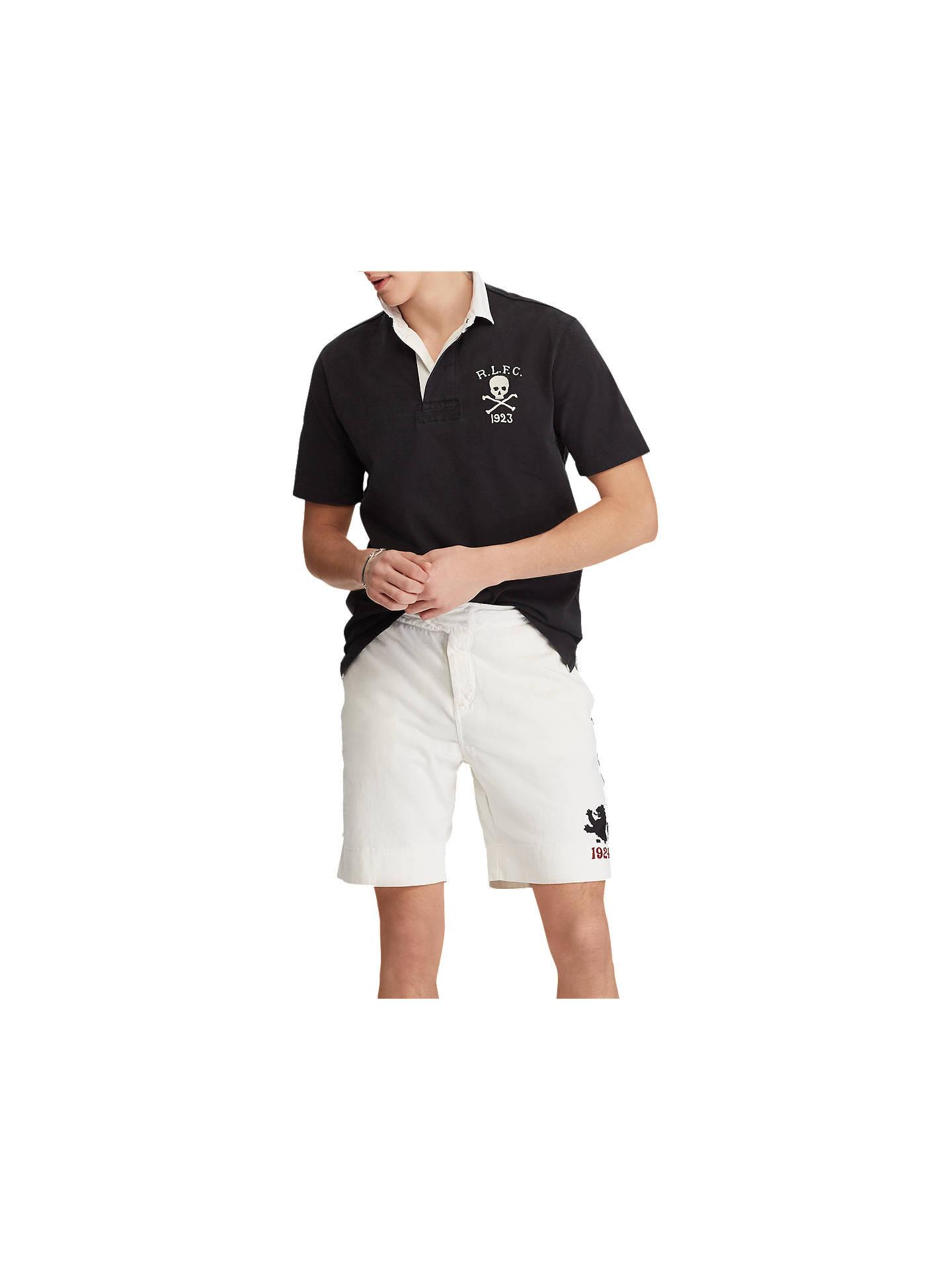 Polo Ralph Lauren Short Sleeve Skull Polo Shirt At John Lewis Partners
