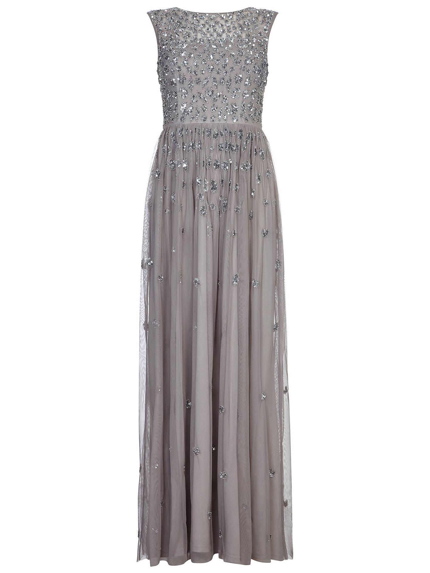 c528af8efb2e ... Buy Adrianna Papell Bead Mesh Long Dress