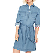 Buy Oasis Claudia Shirt Dress, Light Wash Blue Online at johnlewis.com