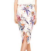 Buy Oasis Citrus Floral Skirt, Multi Online at johnlewis.com