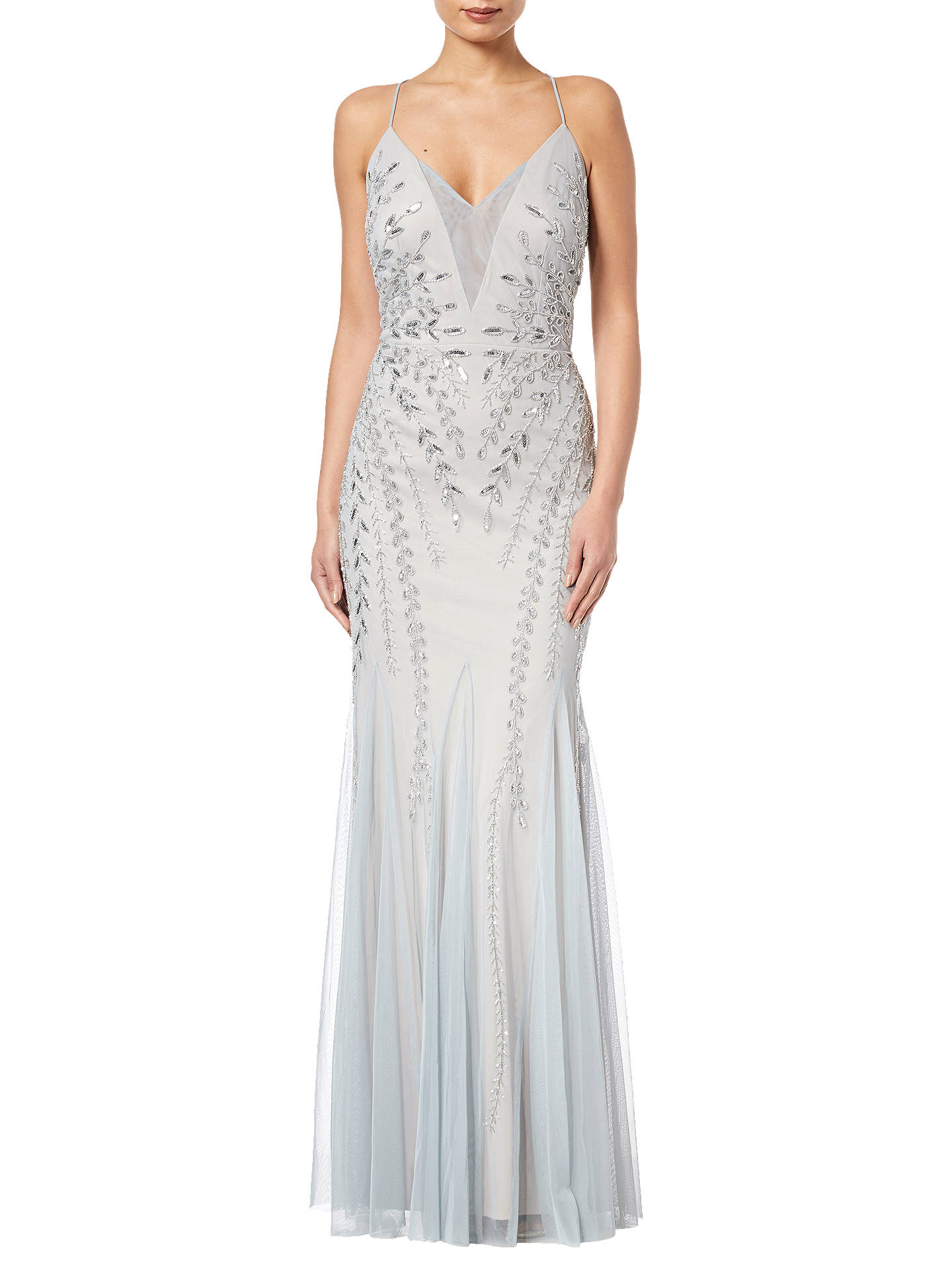 35956bf59fea Buy Adrianna Papell Bead Mesh Long Dress