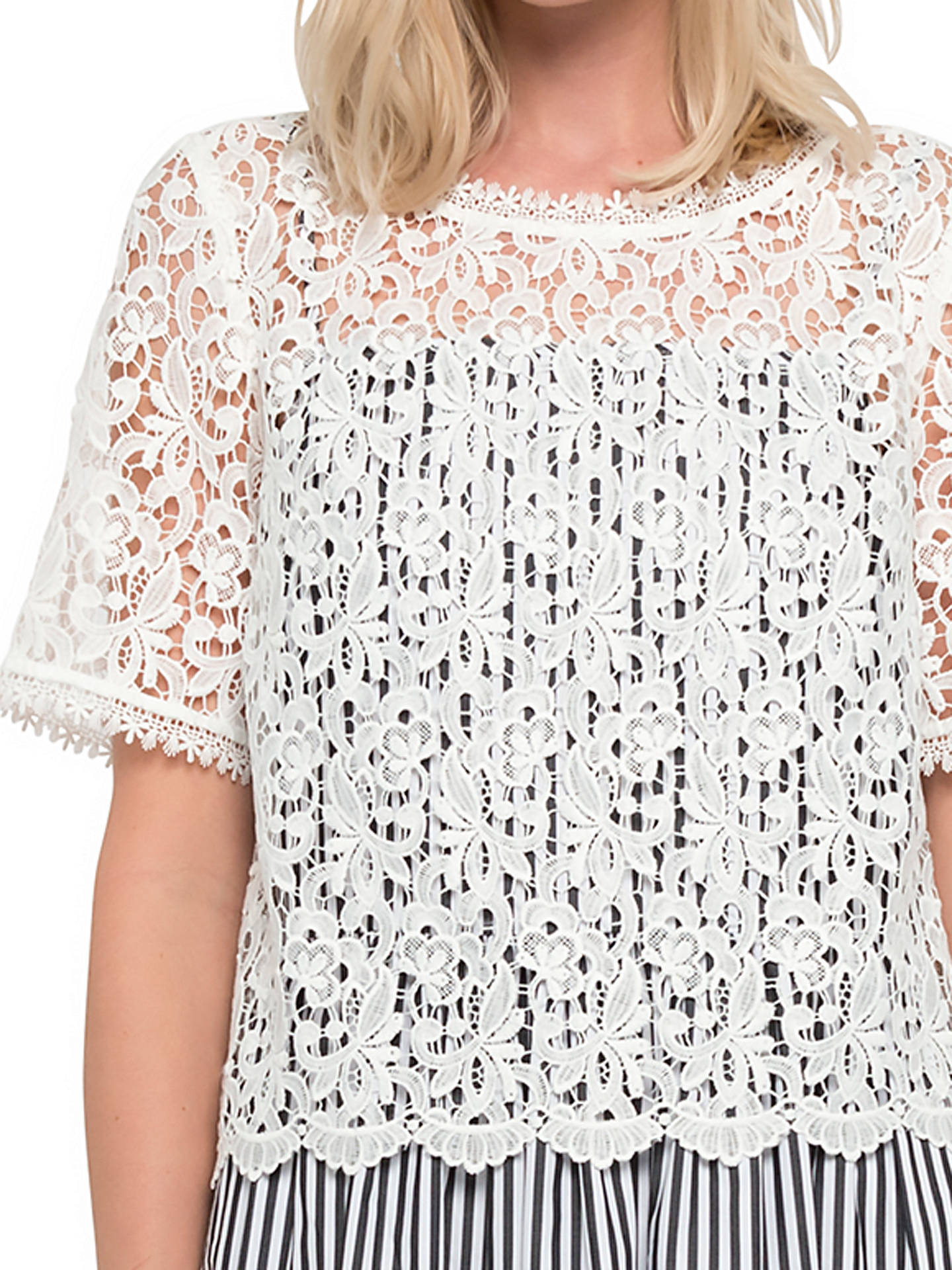 777b129267ef ... Buy French Connection Sardinia Stripe Flared Dress