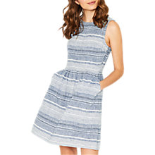 Buy Oasis Stripe Skater Dress, Multi Online at johnlewis.com