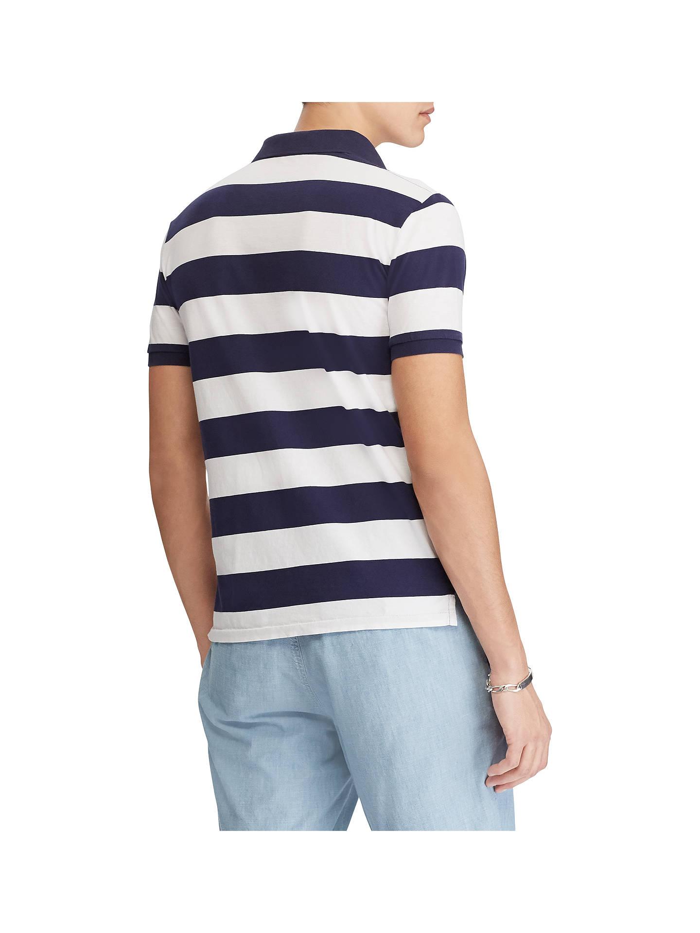 bd5a66bc3 ... Buy Polo Ralph Lauren Custom Slim Fit Stripe Polo Shirt