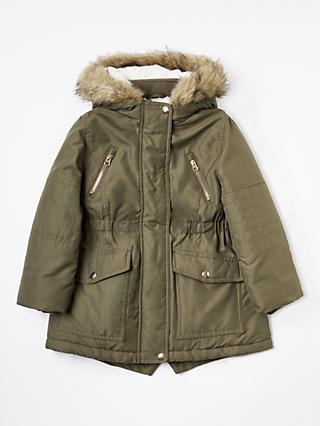 fea2002a9028 John Lewis   Partners Girls  Parka Coat