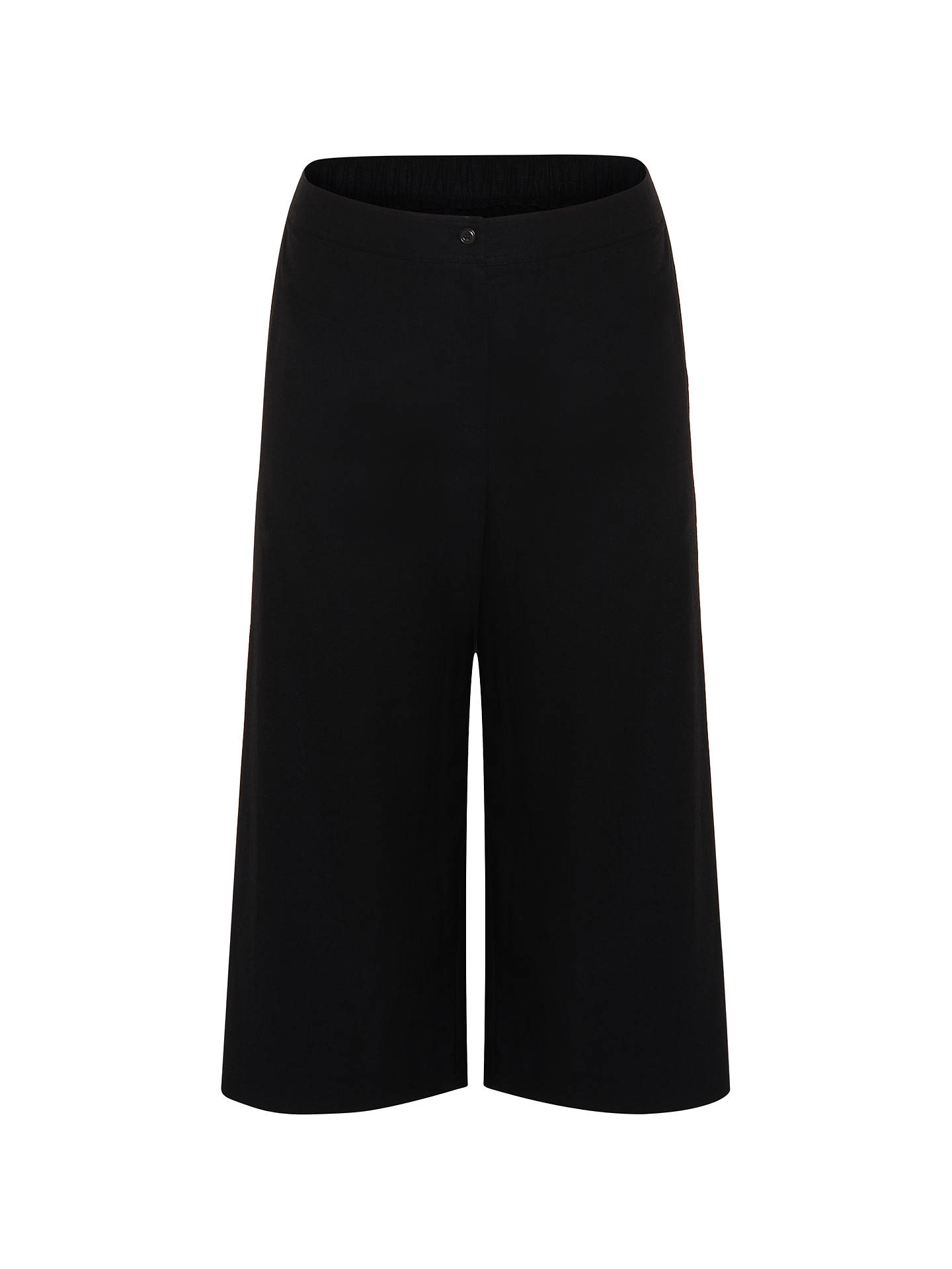 Buy Studio 8 Caila Cropped Linen Blend Trousers, Black, 12 Online at johnlewis.com
