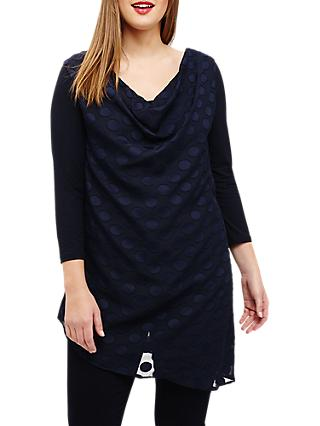 Studio 8 Nisha Spot Top, Navy