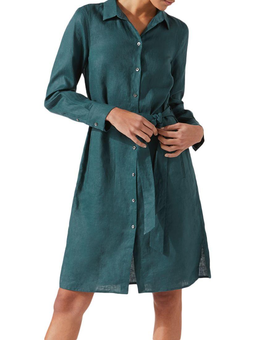 b4e8e84342 Jigsaw Linen Shirt Dress