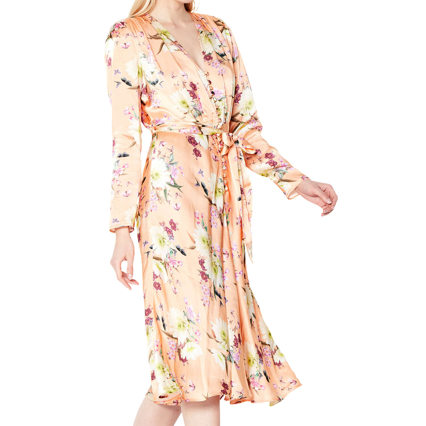 BuyGhost Meryl Dress, Summer Bloom, S Online at johnlewis.com