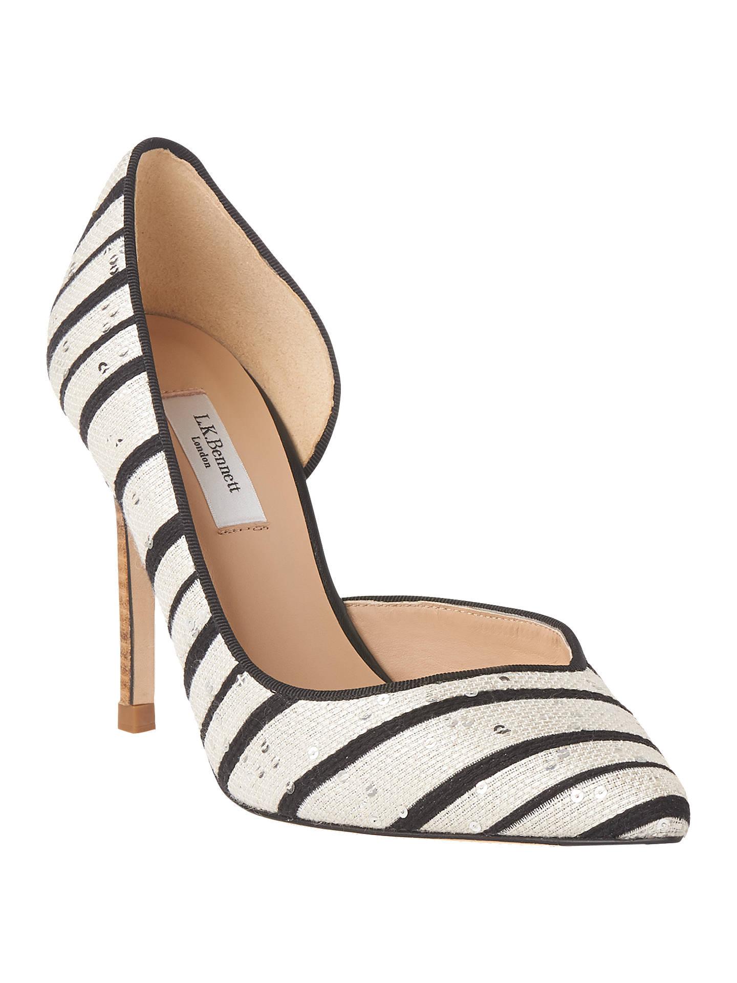 8f8ba85598a8 Buy L.K.Bennett Zara Open Stiletto Heel Court Shoes
