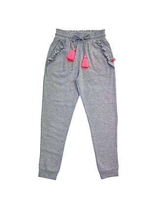 Outside the Lines Nep Frill Joggers, Grey