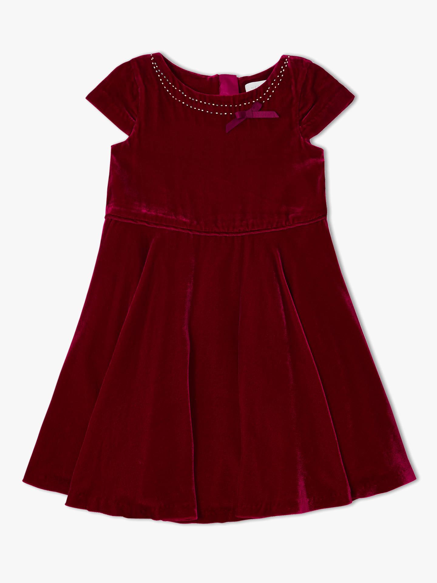 efca3c9b2b3 Buy John Lewis   Partners Heirloom Collection Velvet Dress