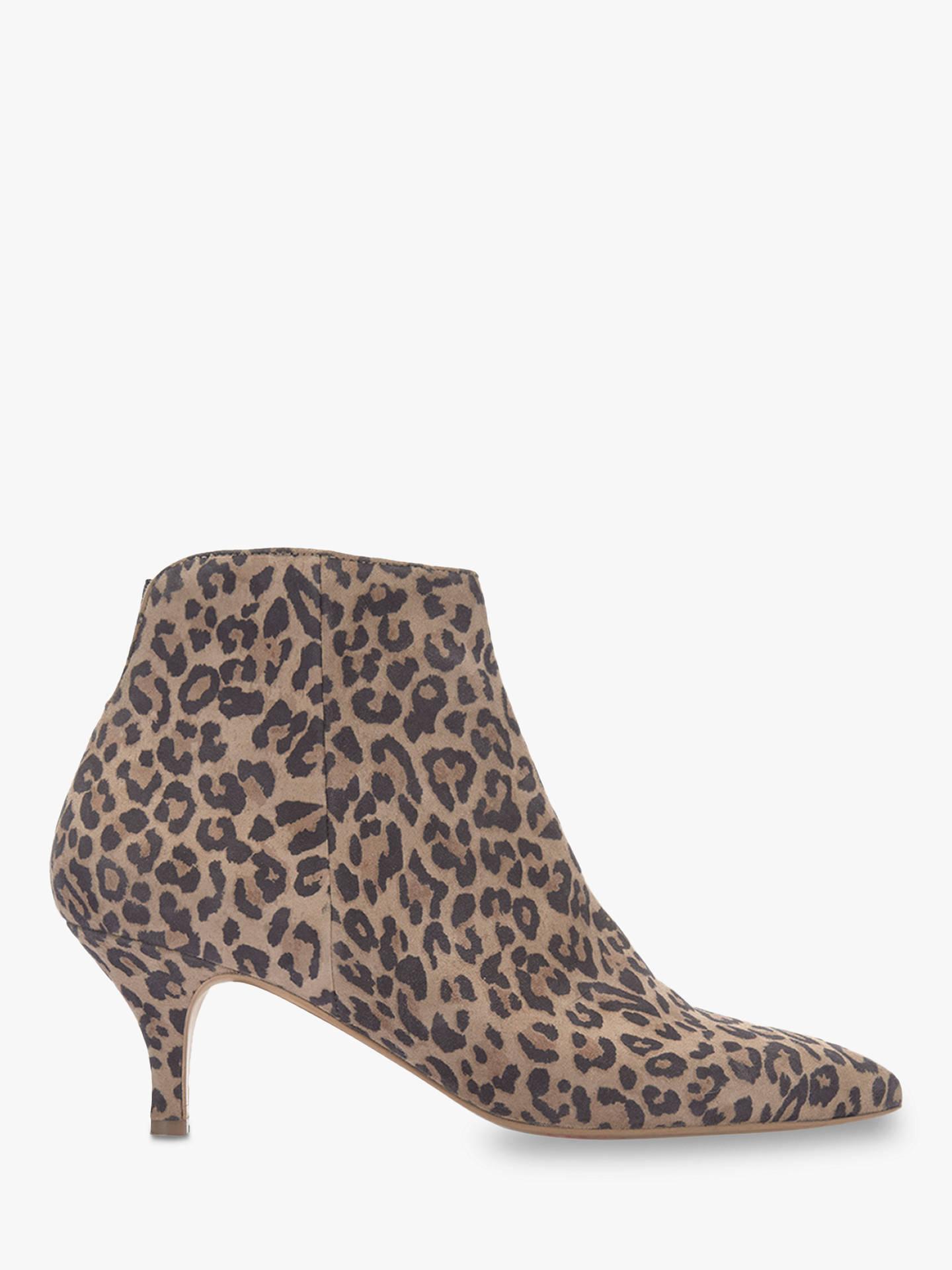 68870ba7d78d Buy Mint Velvet Tommie Kitten Heel Ankle Boots, Multi Suede, 3 Online at  johnlewis ...