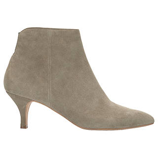 Mint Velvet Tommie Kitten Heel Ankle Boots, Natural Suede