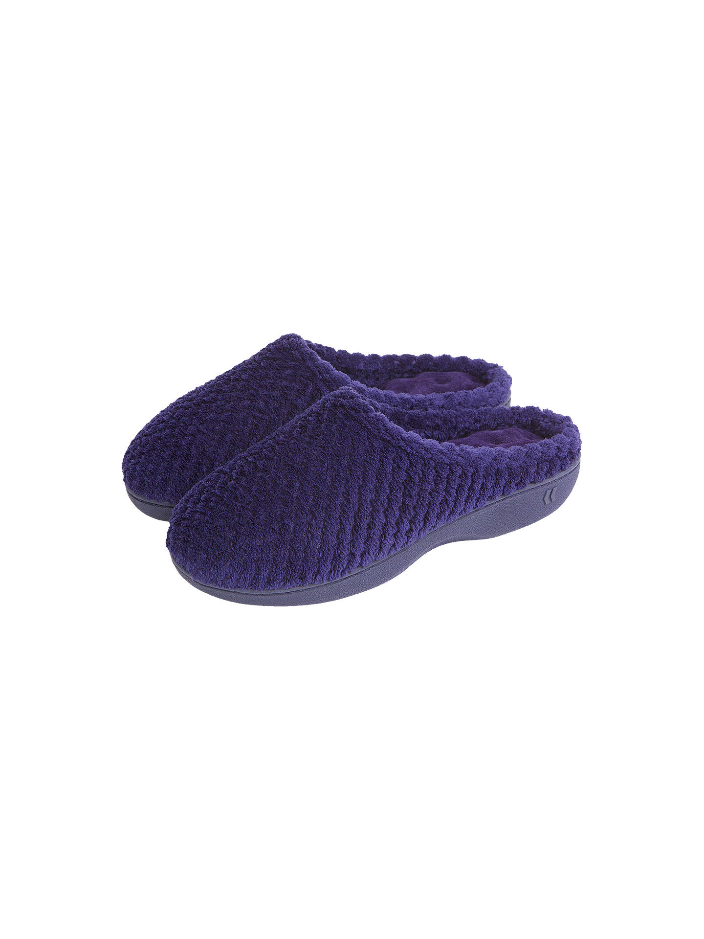 f4f2be0d6f3d1 totes Popcorn Pillowstep Mule Slippers at John Lewis & Partners