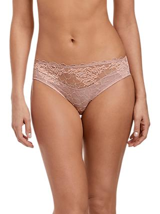 Wacoal Lace Perfection Briefs, Rose Mist