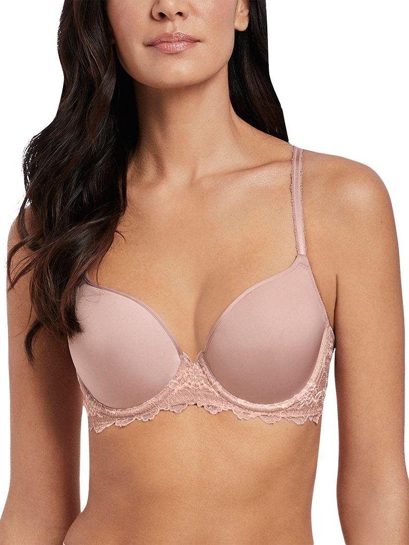 Wacoal Wacoal Lace Perfection Contour Bra, Rose Mist