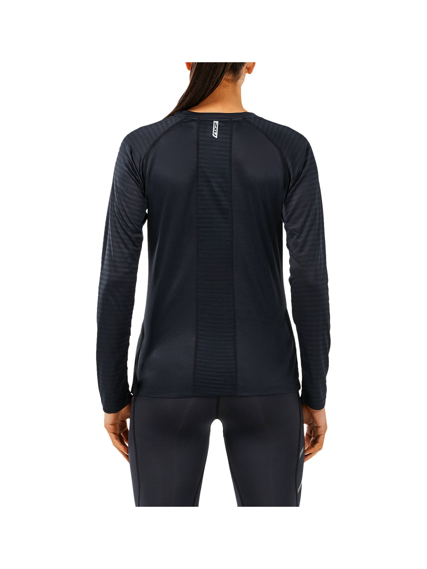 Buy 2XU Xvent Long Sleeve Top, Black, XS Online at johnlewis.com