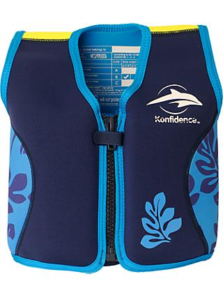 Konfidence Baby Swim Jacket, Navy