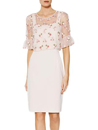 Gina Bacconi Demelza Dress and Cape, Antique Rose