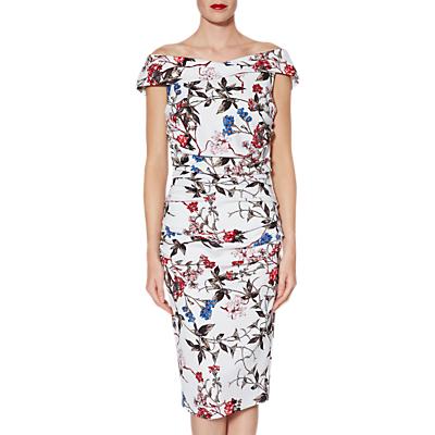 Gina Bacconi Annika Floral Dress, Multi