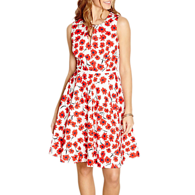 Yumi Belted Floral Dress