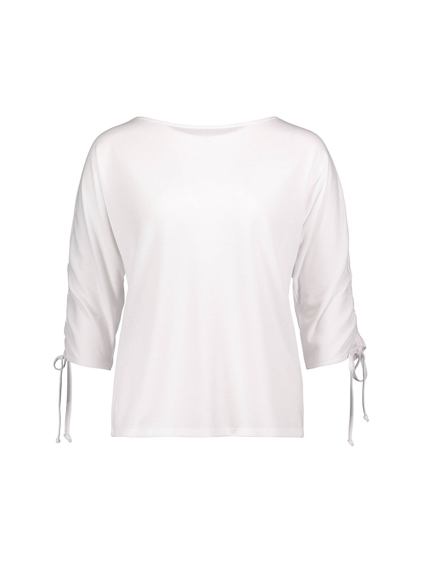 BuyBetty & Co. Textured Tie Sleeve Blouse, Bright White, 14 Online at johnlewis.com