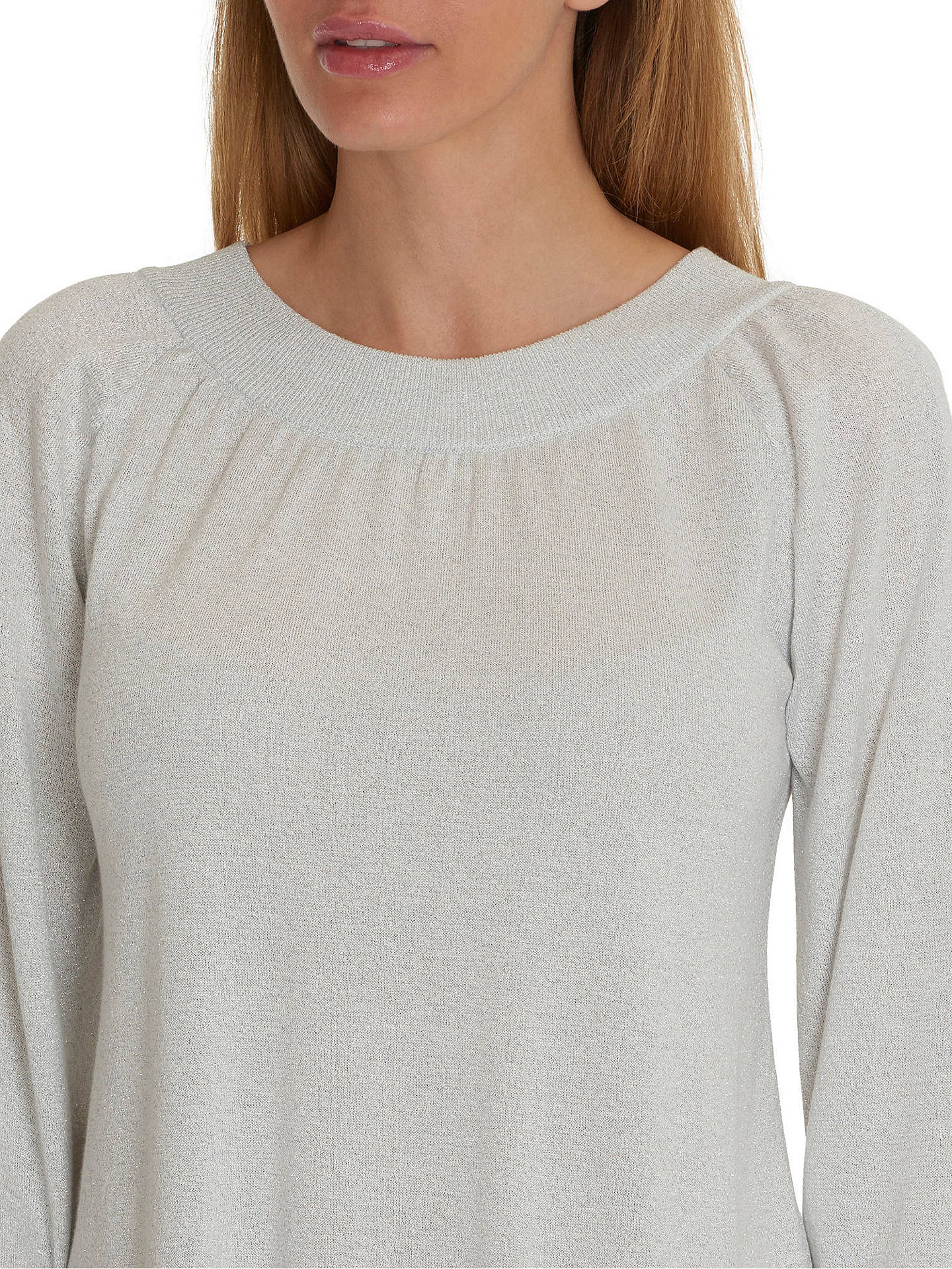 Buy Betty & Co. Fine Knit Top, Snow White, 10 Online at johnlewis.com
