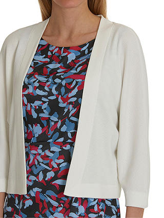Buy Betty & Co. Textured Knit Cardigan, Snow White, 10 Online at johnlewis.com