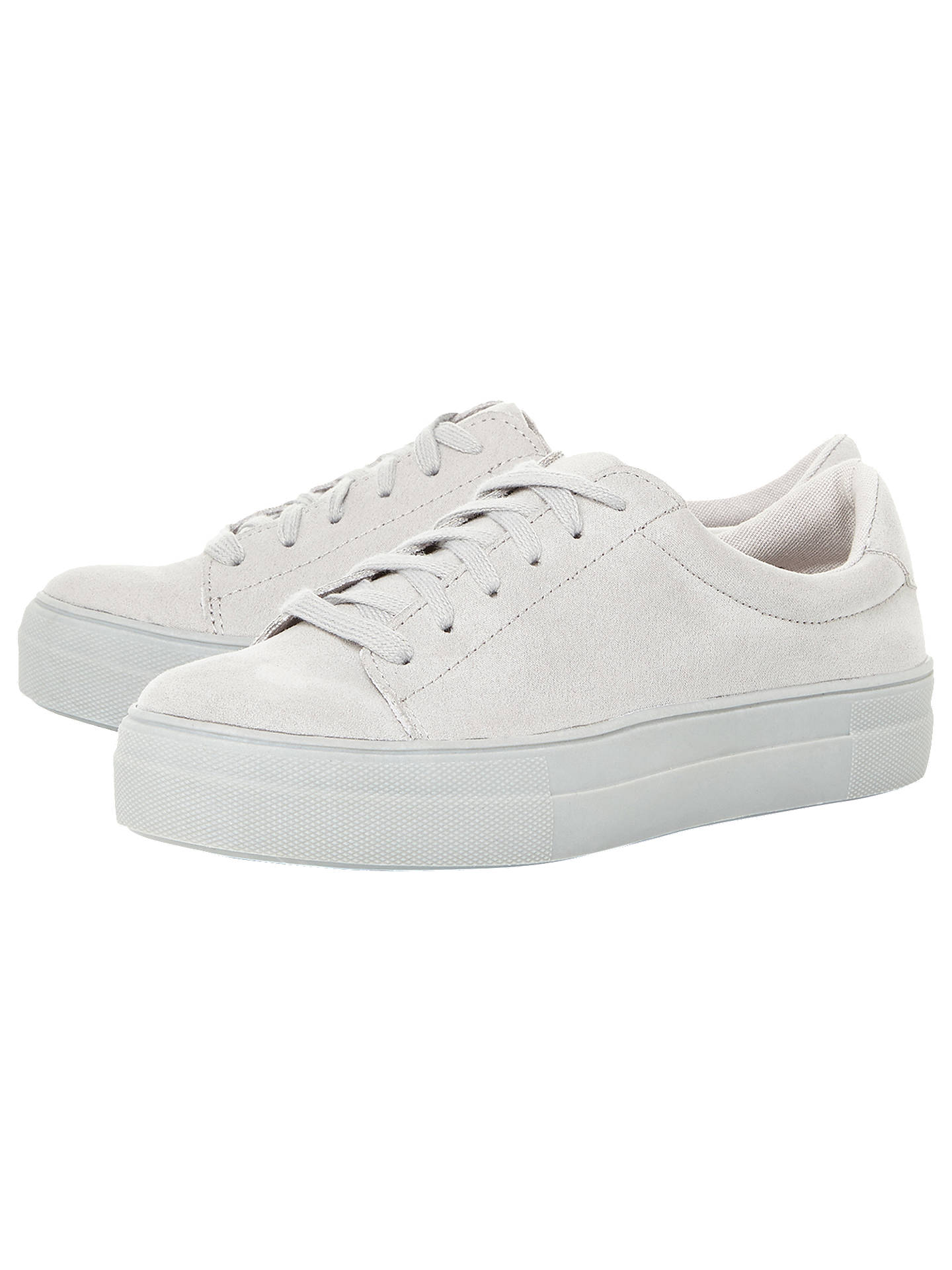 c276d5d358f Steve Madden Brody Lace Up Flatform Trainers at John Lewis   Partners
