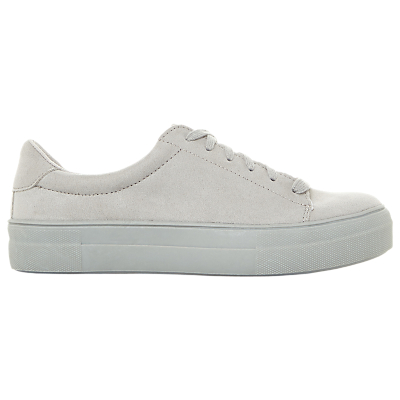 Steve Madden Brody Lace Up Flatform Trainers