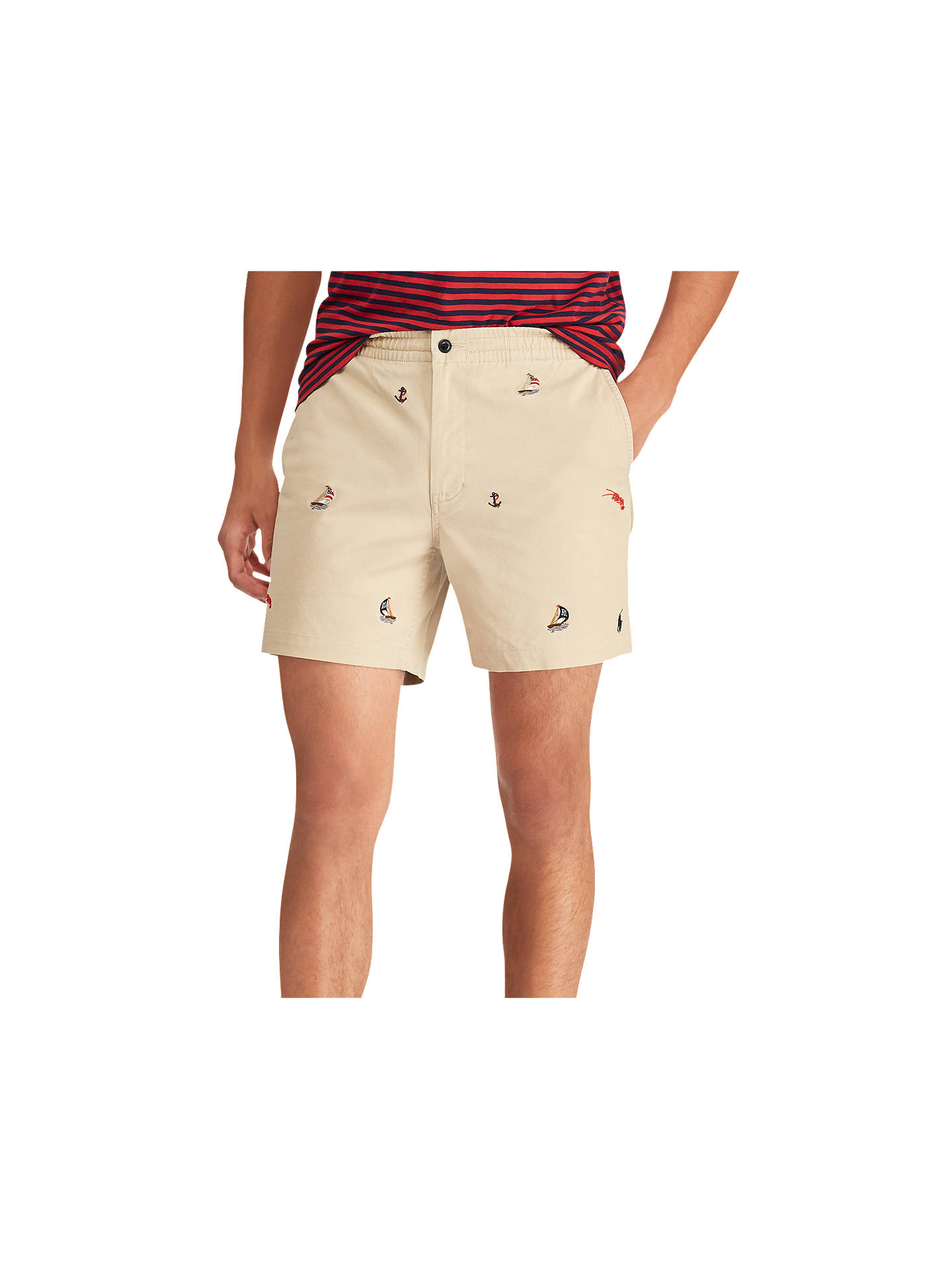 196eab496 Buy Polo Ralph Lauren Prepster Flat Embroidered Boat Shorts