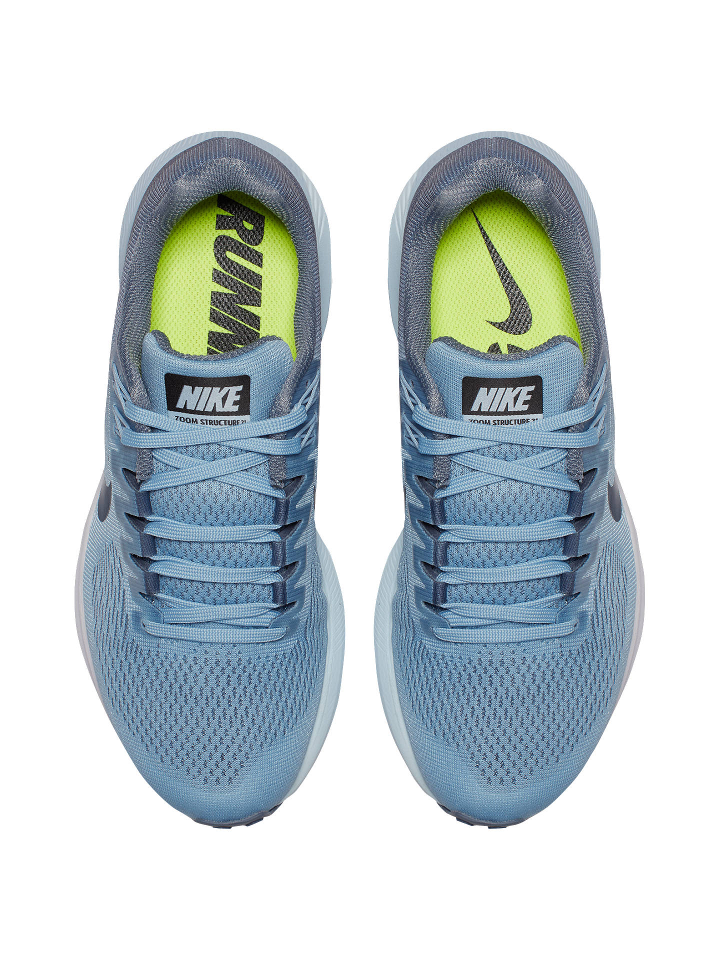best sneakers 8e2d3 e079c ... cheap buynike air zoom structure 21 womens running shoes armoury blue 8  online at johnlewis 61e57