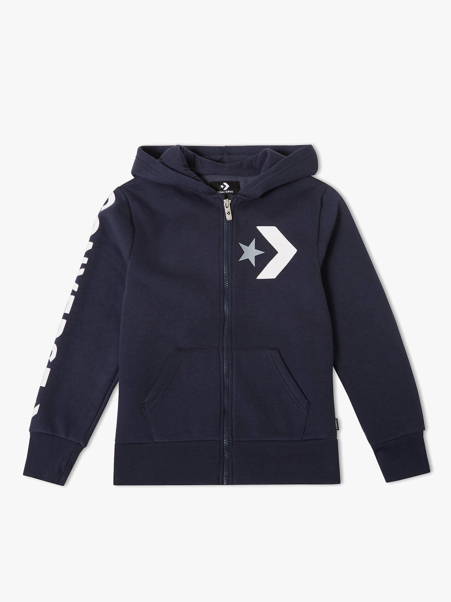 844ecf26bf0c Buy Converse Children s All Star Chevron Graphic Zip Hoodie