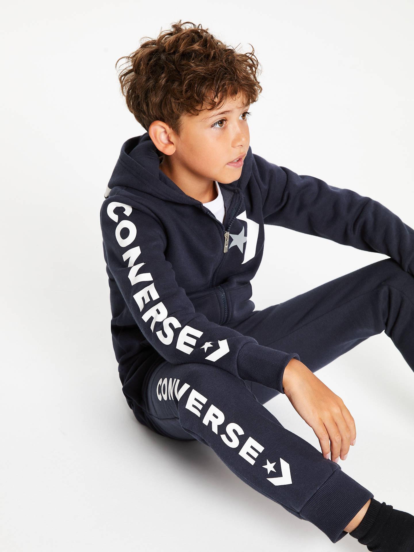 Converse Children's All Star Chevron Graphic Zip Hoodie