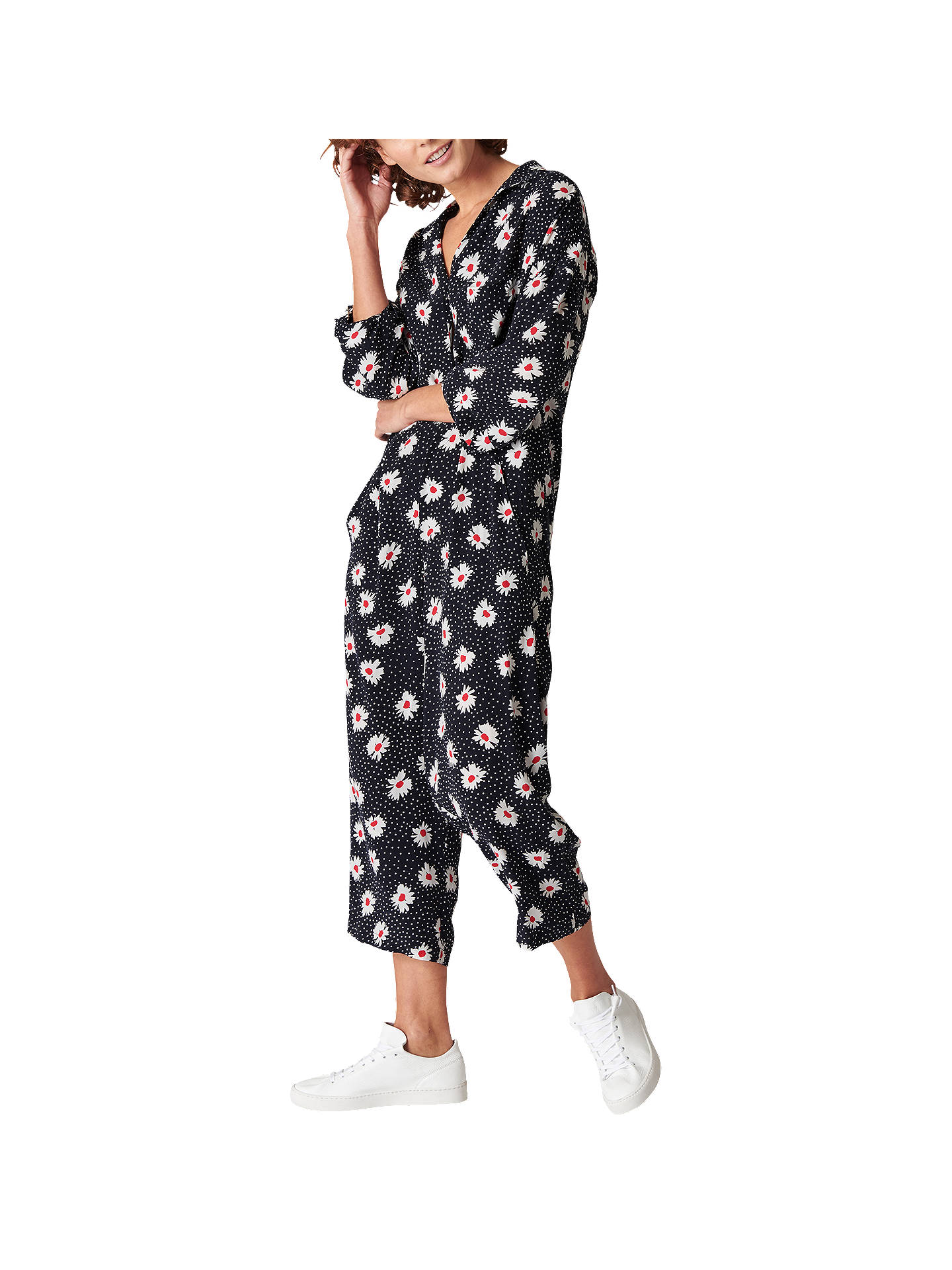 buy online usa cheap sale vivid and great in style Whistles Daisy Spot Jumpsuit, Multi at John Lewis & Partners