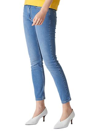 Whistles Skinny Jeans, Light Wash Denim
