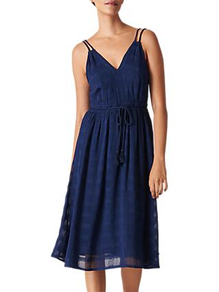 Whistles Hari Dress, Navy