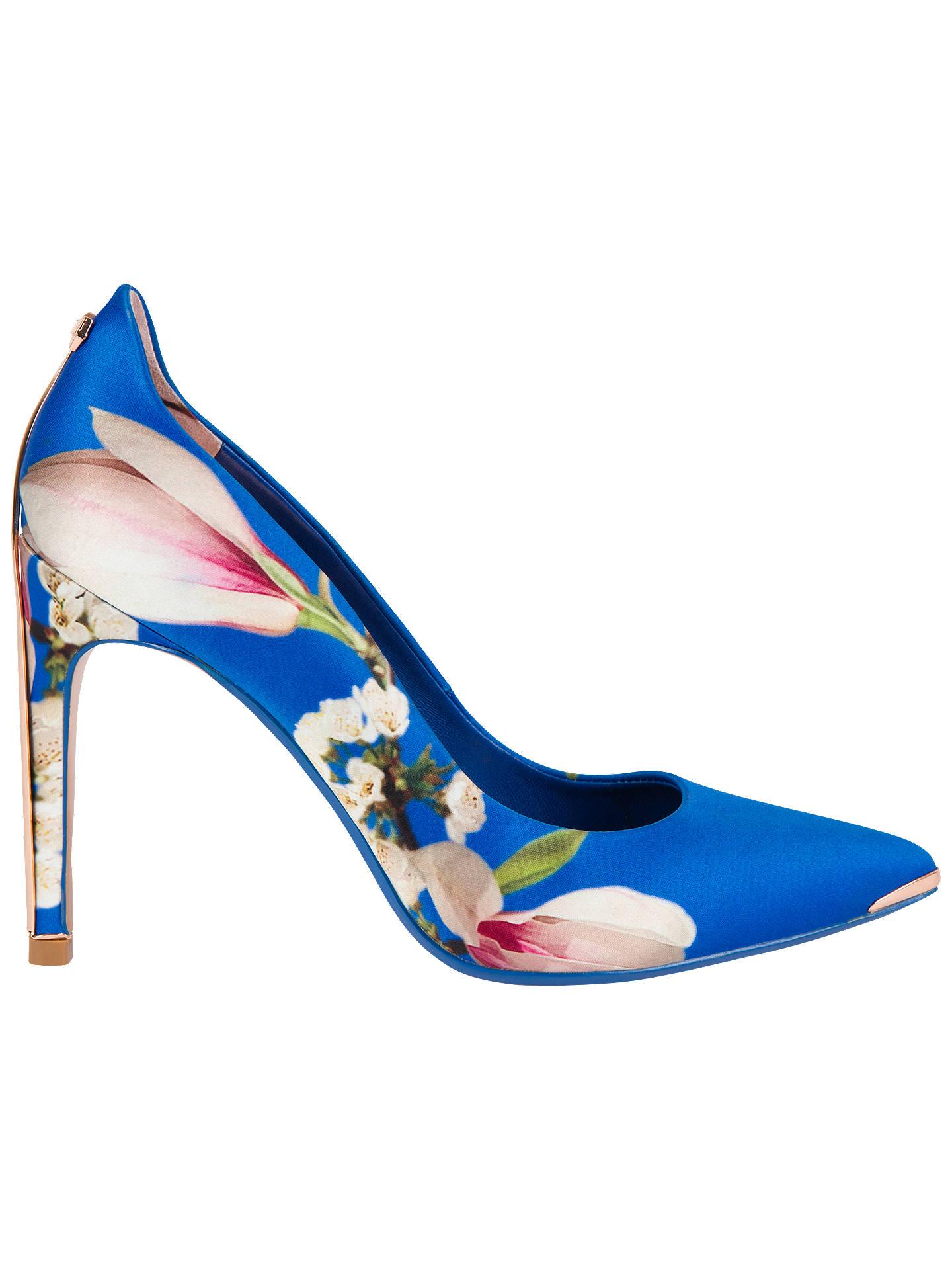 9e38e3a5a Buy Ted Baker Hallden Textile Heel Court Shoes