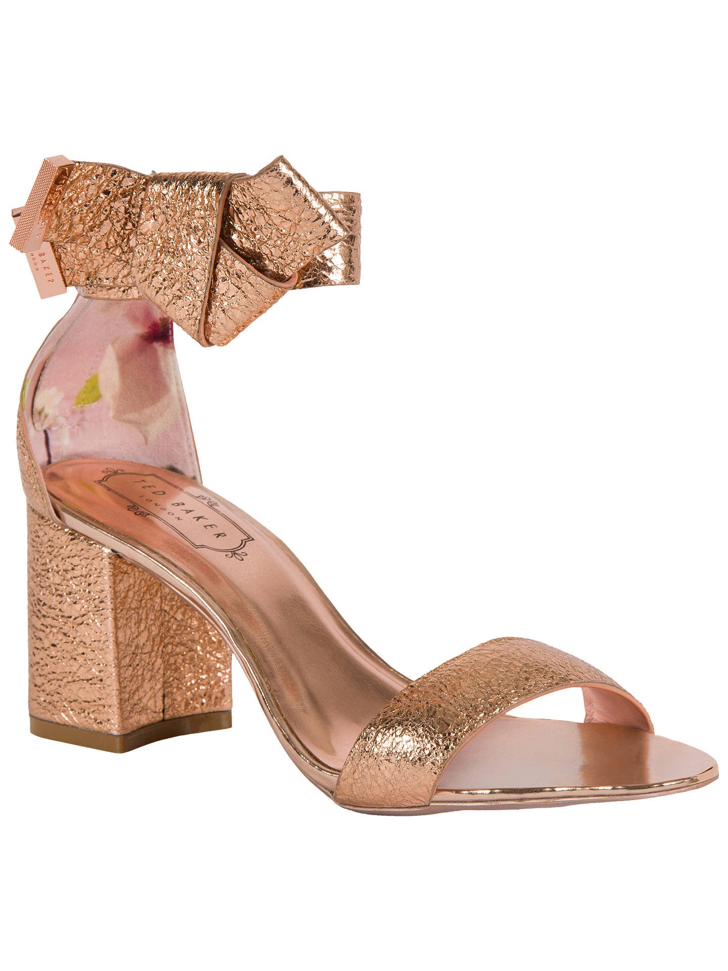 bcec55a0a Buy Ted Baker Kerria Block Heeled Sandals