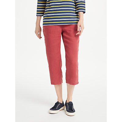 Seasalt Brawn Point II Cropped Linen Trousers